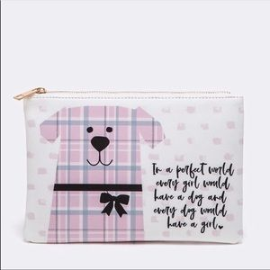 Accessories - Dog Printed Iconic Pouch